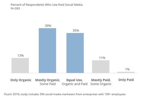 Paid vs. Organic Social Media: Which Is More Effective? | Social Media, SEO, Mobile, Digital Marketing | Scoop.it