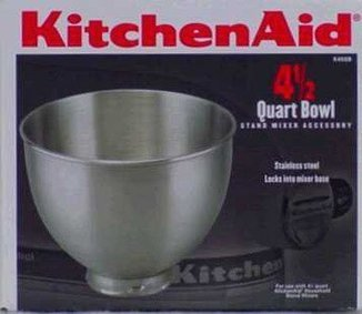 Alegacy Stainless Steel Bowl Only – Fits 4 1/2 Quart KitchenAid Mixer — 1 each.   Cheap Food Processors   Home electronic   Scoop.it