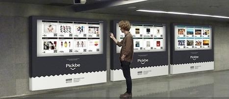 Espagne : La startup Pickbe déploie des murs de commande digitaux dans le métro de Barcelone   E-commerce, M-commerce : digital revolution   Scoop.it
