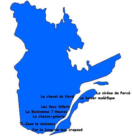 Contes et légendes du Québec | Remue-méninges FLE | Scoop.it