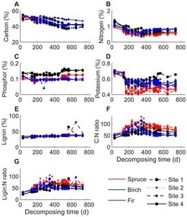 Temporal Dynamics of Abiotic and Biotic Factors on Leaf Litter of Three Plant Species in Relation to Decomposition Rate along a Subalpine Elevation Gradient | Plant Genomics | Scoop.it