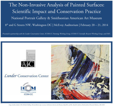 The Non-Invasive Analysis of Painted Surfaces A two-day international symposium Washington DC, February 2014 By Paola Ricciardi   News in Conservation   Scoop.it