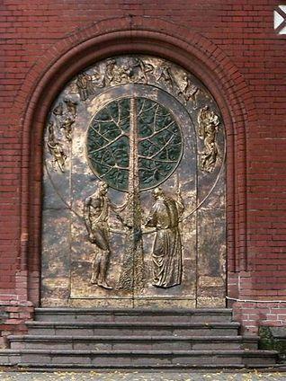 Doors Of The Brick Church - Minsk, Belarus - Europa Fotos | Belarus Tourism Photos | Scoop.it