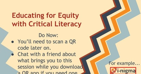Critical Literacy in the Middle Grades | 21st Century Literacy and Learning | Scoop.it