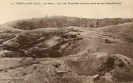 14-18 : cote 108 (Aisne) - la colline oubliée | Nos Racines | Scoop.it