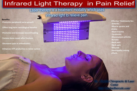 Infrared Light Therapy Aids You in Pain Relief | Chiropractic | Scoop.it