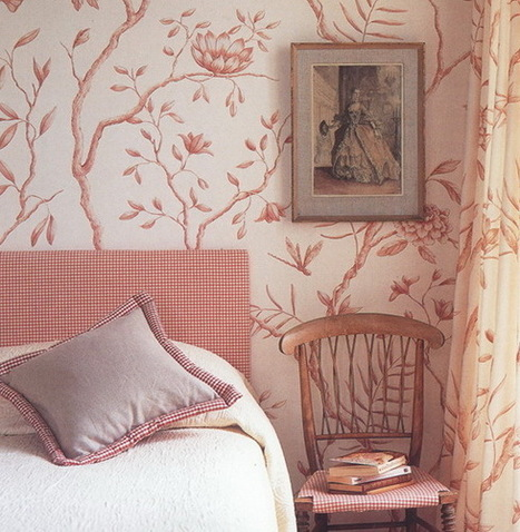 10 rooms decor ideas with wallpaper in retro style | Textile | Scoop.it