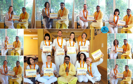 Course Closing ceremony of 300 and 500 Hour Batch | Yoga School Rishikesh India | Scoop.it