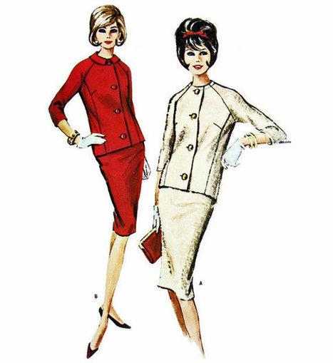 1963 Vintage Pattern | QuiteQuainte | Scoop.it