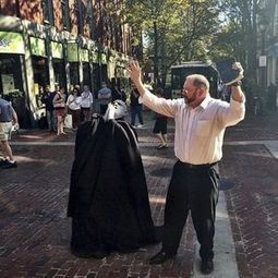 ART OR HARASSMENT - Halloween preachers stir up a response downtown | SILLY STREET | Scoop.it