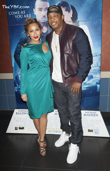 "Ja Rule & Adrienne Bailon Premiere Their New Movie ""I'm In Love With A Church Girl"" 
