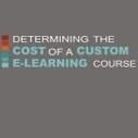 What is the cost of an eLearning course? - Infographic | Stretching our comfort zone | Scoop.it