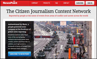Blottr to launch citizen journalism syndication network | Tomorrow's News | Scoop.it