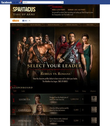 How STARZ is using social TV with 'Boss' and 'Spartacus' | Machinimania | Scoop.it