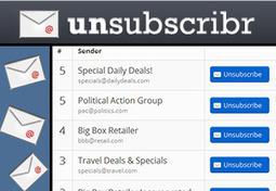 Unsubscribr. Nettoyage de printemps pour votre boite mail | Les outils du Web 2.0 | Scoop.it