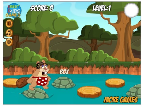 Beaver Trouble Typing - Free typing games | 打字練習 | Scoop.it