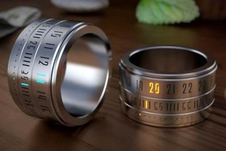 Ring Clock, the Watch that Has the Finger on the Pulse | Baxtton | Baxtton, Online Magazine for Men, Men's Style & Lifestyle, Technology | Scoop.it