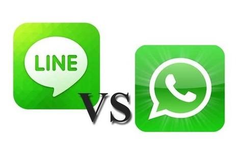 WhatsApp vs LINE chi vincerà? | ToxNetLab's Blog | Scoop.it