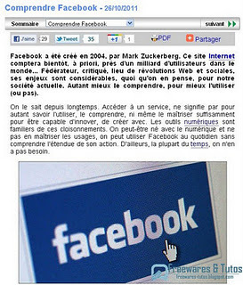 Comprendre Facebook | Time to Learn | Scoop.it