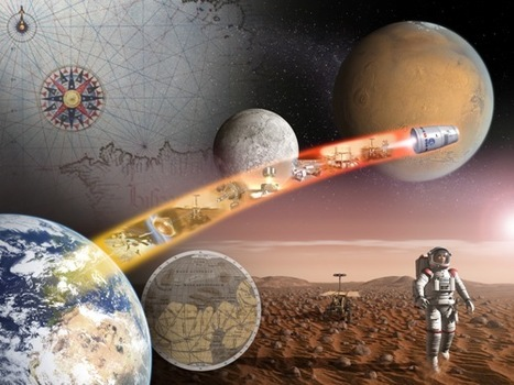 Reaching for the Red Planet: UK Space Agency announces £1.6M for Mars exploration | Space matters | Scoop.it