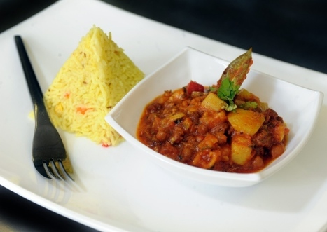 Black channa and potato served with mixed vegetable basmati rice - In my kitchen - Yorkshire Post | Wines and People | Scoop.it