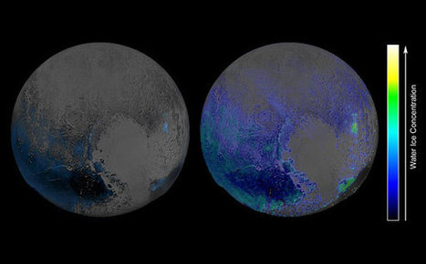 New Horizons Spacecraft Reveals More Water Ice on Pluto's Surface Than Previously Thought | Geology | Scoop.it