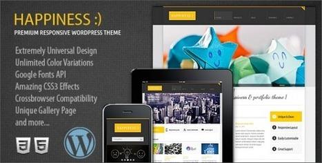 50 Plantillas Premium de WordPress que No Te Puedes Perder   CreativaSfera   Uso inteligente de las herramientas TIC   Scoop.it