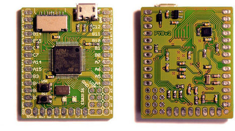 Micro Python Brings Python to MCU Boards and Robots (Crowdfunding) | Pad-Embedded | Scoop.it