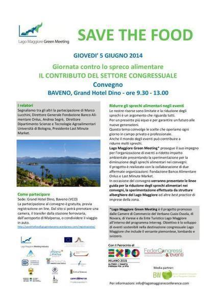 Save the Food | Green Meetings and Green Destinations | Scoop.it