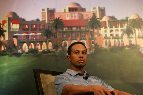 Tiger Woods touche $55M pour un projet golf à Dubai | Les dernières news golf et info golf | Scoop.it
