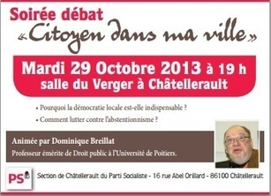 Invitation :)) | Chatellerault, secouez-moi, secouez-moi! | Scoop.it