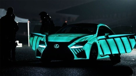 LEXUS develops car that displays driver's heartbeat while racing   Inspired By Design   Scoop.it