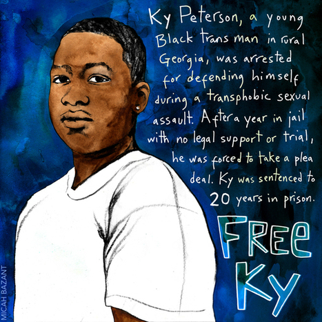 Justice for Ky Peterson! Black transgender man sentenced to 20 years in prison for defending himself against sexual assault | SocialAction2015 | Scoop.it
