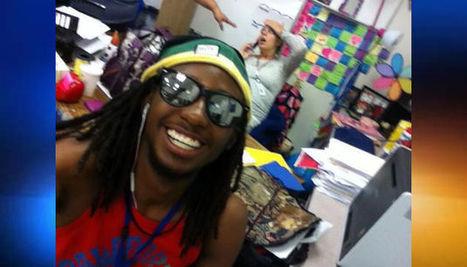 Student's selfie with Coral Springs teacher in labor goes viral | Bingomagz! | Scoop.it