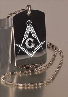 Buy Engraved Dog Tag Necklace Gifts | stainless steel masonic ring | Scoop.it