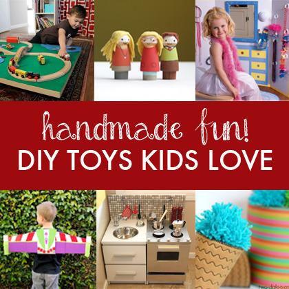 Handmade Fun!  10 DIY Toys for Kids | Parent Autrement à Tahiti | Scoop.it