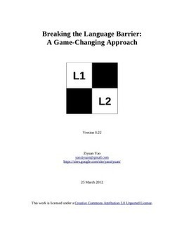 Breaking the Language Barrier: A Game-Changing Approach | Learning Technology News | Scoop.it