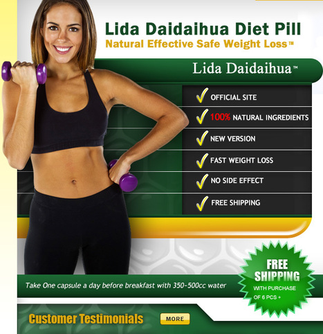 LiDa Daidaihua ® Diet Pill Official Site™ | Super Slim Pomegranate ® Weight Loss Capsule Official Site™ | Scoop.it