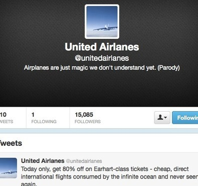 United Airlines Parody: Brand Management Failure - Mathaba | IMC 2013 Semester 2 | Scoop.it