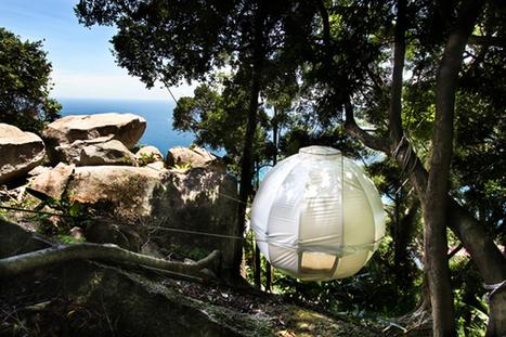 Nouvelle cabane par Cocoon Tree Bed | Journal du Design | Revue Déco du Web par Du Côté de Chez Vous | Scoop.it