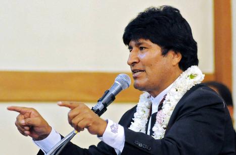 Evo acusa a EEUU de pretender dividir a Bolivia | La R-Evolución de ARMAK | Scoop.it