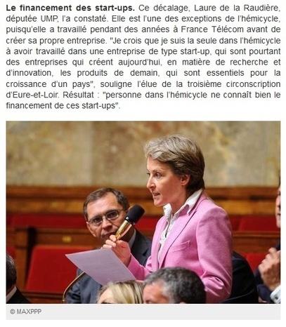 Sur Europe 1: Et si nos députés faisaient des stages en entreprise ... - Laure de la Raudière | entreprendre | Scoop.it