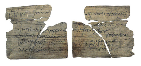 A tablet bearing a birthday party invite includes the earliest Latin script penned by a woman   LVDVS CHIRONIS 3.0   Scoop.it