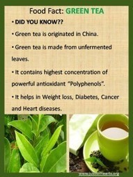 Quick Bytes: Green Tea | Nutrition in today's life! | Scoop.it