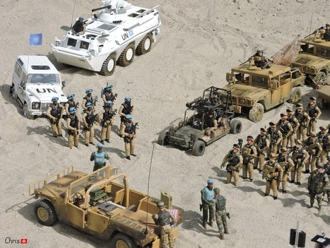 My Small 1/18 Desert Army | Military Miniatures H.Q. | Scoop.it