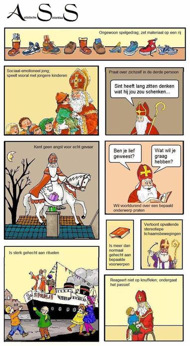 Auti- Sinterklaas | Buitengewoon onderwijs | Scoop.it