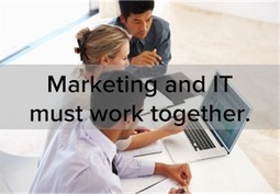Play Nice, You Two: How Marketing and IT Can Work Better Together - HubSpot   #TheMarketingTechAlert   Marketing Technology: All about marketing tech products & services   Scoop.it