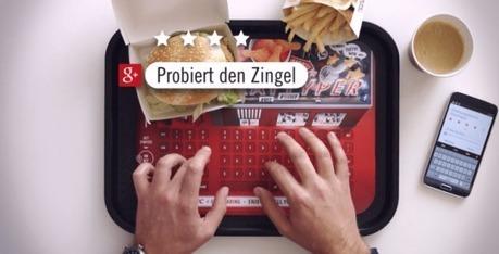 KFC crea una bandeja que sirve de teclado para tu móvil | Marketing & Social Media | Scoop.it