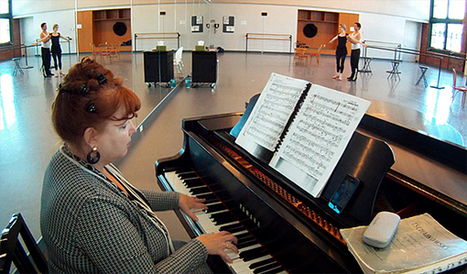 Ramona Pansegrau, A Life At The Piano, Shaped By Dance - KCUR   OffStage   Scoop.it