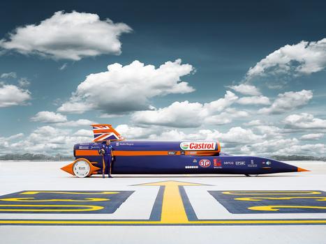 The Quest to Hit 1,000 MPH in an Insane Rocket-Powered Car | WIRED | Ma veille - Technos et Réseaux Sociaux | Scoop.it